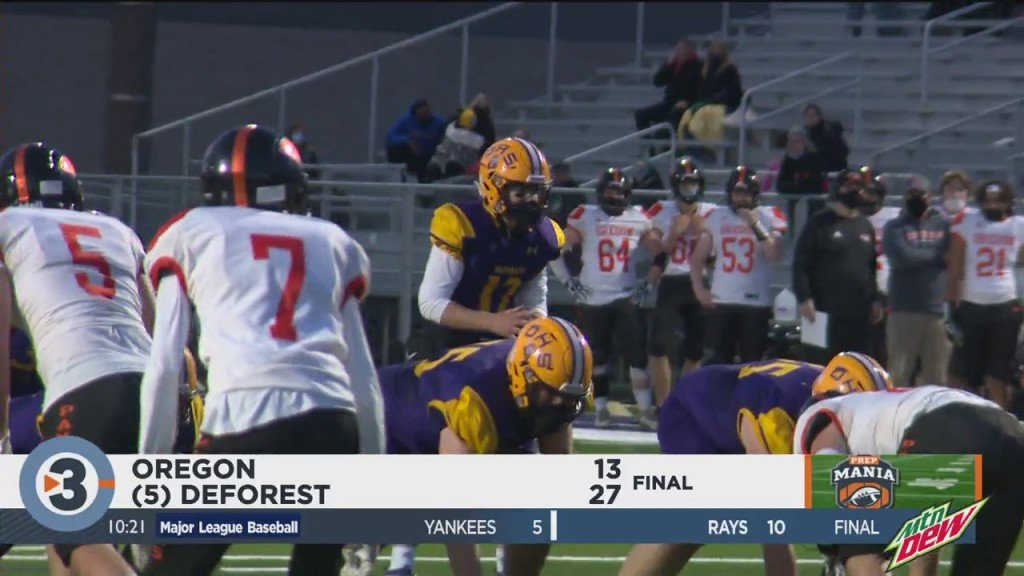 Deforest Beats Oregon