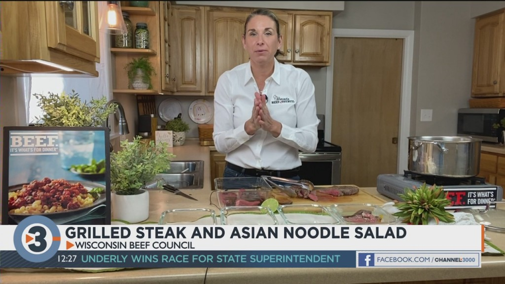 Angie Horkan Shares A Beef Recipe Perfect For Meal Prepping