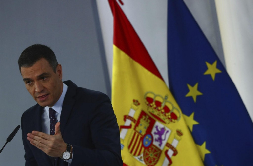 Spain's Pm Wants Eu Recovery Funds To Transform The Nation