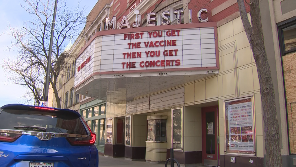 Majestic Theater in Madison hosting pop-up vaccine clinic