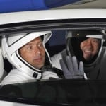Astronauts Arrive At Pad For Spacex Flight On Used Rocket