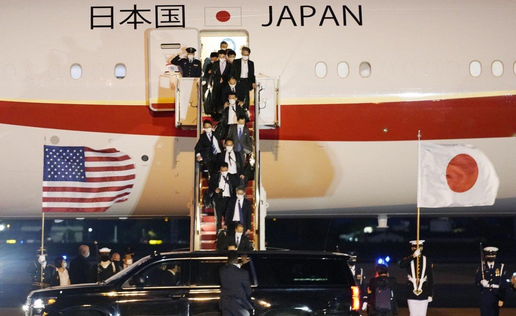 Biden Meets Japan's Leader To Boost China Facing Alliances