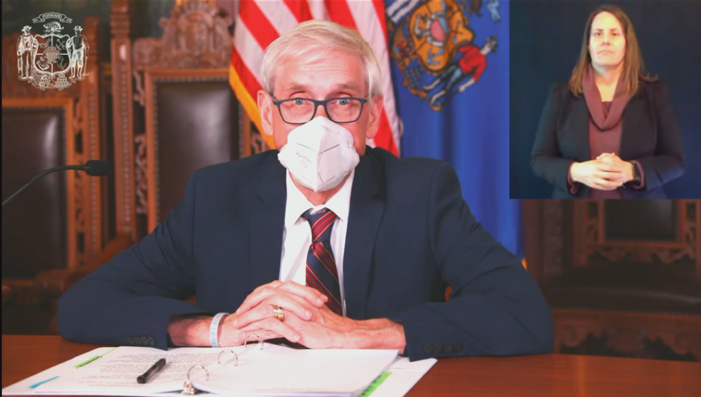 Wisconsin Gov. Tony Evers announces a deal to preserve federal food benefits