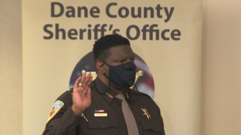 Kalvin Barrett Sworn In As Dane County Sheriff
