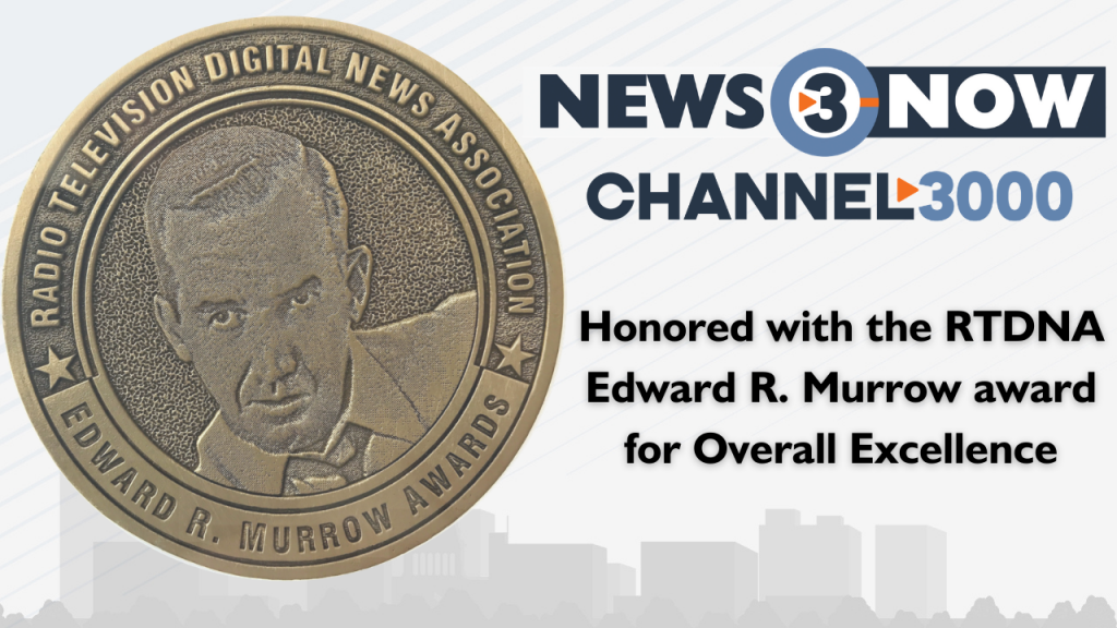 WISC-TV wins Edward R. Murrow award for Overall Excellence