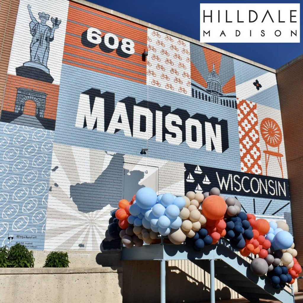 Hilldale Madison mural