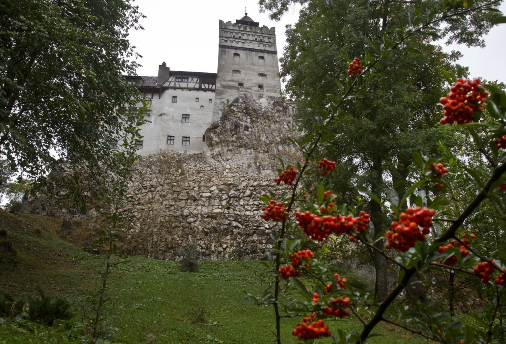 Dracula's Castle Proves An Ideal Setting For Covid 19 Jabs