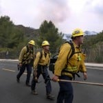 Police: 2 Arson Suspects Detained In Los Angeles Wildfire