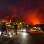 Crews Battle Los Angeles Wildfire That Forced Evacuations