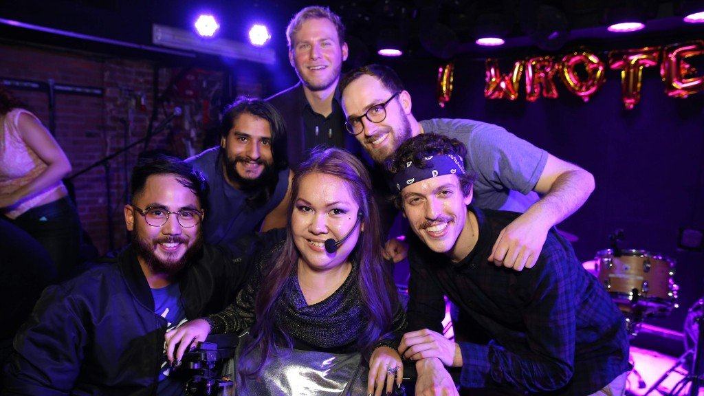Tabitha Haly with band