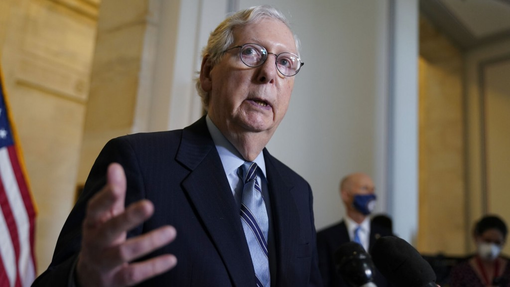 Mcconnell Says Gop Open To $600 Billion For Infrastructure