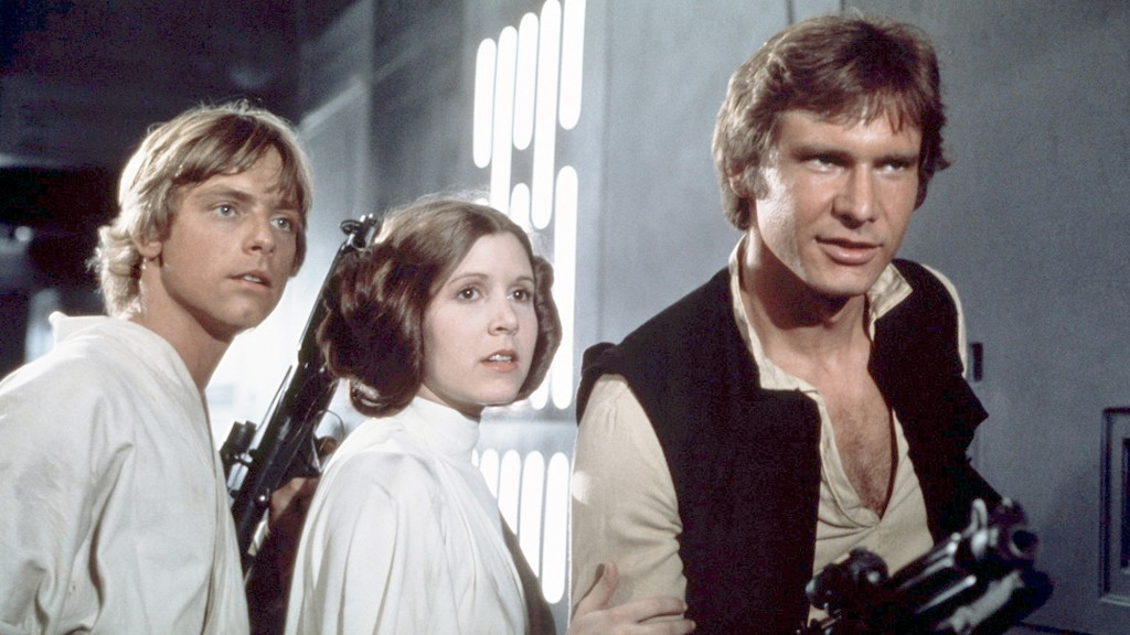 On The Set Of Star Wars: Episode Iv A New Hope