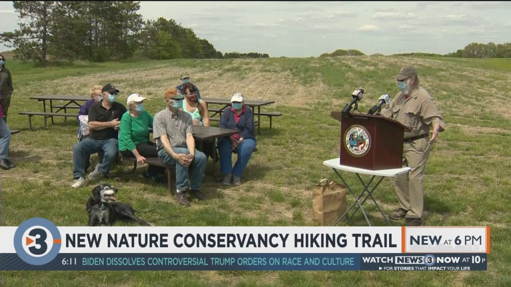New Nature Conservancy Hiking Trail In Dane County