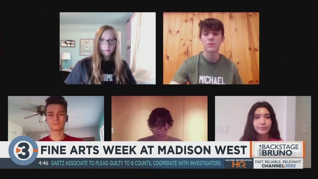 Backstage With Bruno: Fine Arts Week At Madison West