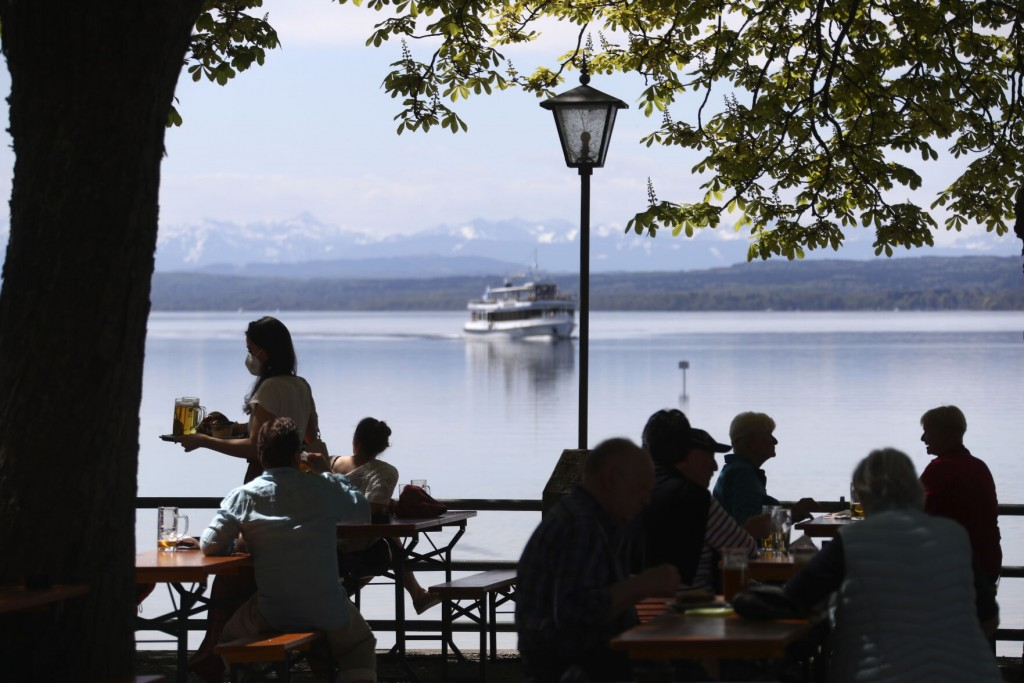 Prost! Bavaria Opens Some Of Its Famous Beer Gardens Again