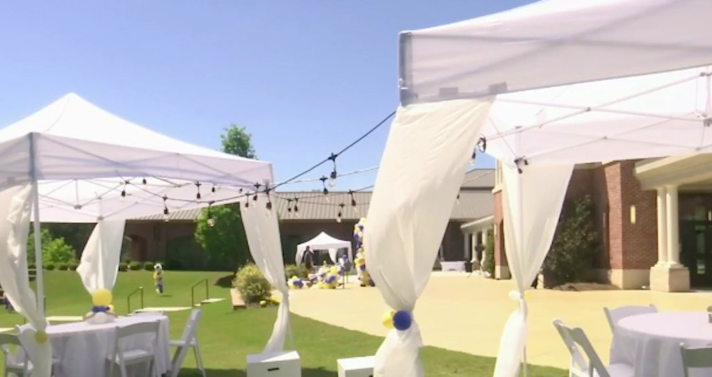Tents and Wgcl Prom Decor