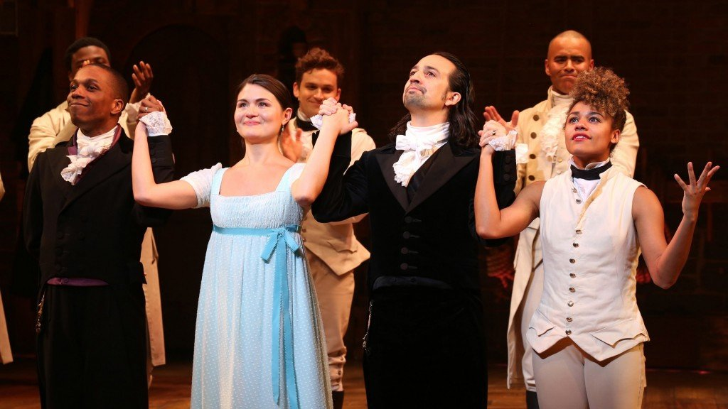 "Lin Manuel Miranda's Final Performance In ""hamilton"" On Broadway"
