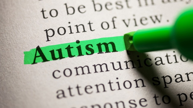 """green highlight over the term """"autism"""""""