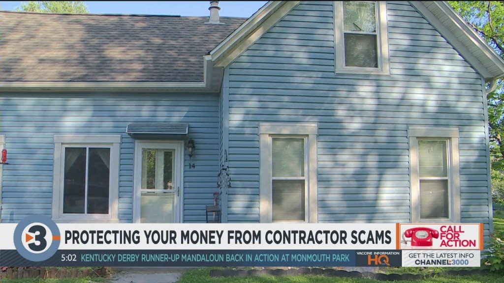 Protecting Your Money From Contractor Scams