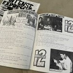 Spread From Tim Burton Zine Intense Expression From 1989 Featuring Interview With Inspector 12