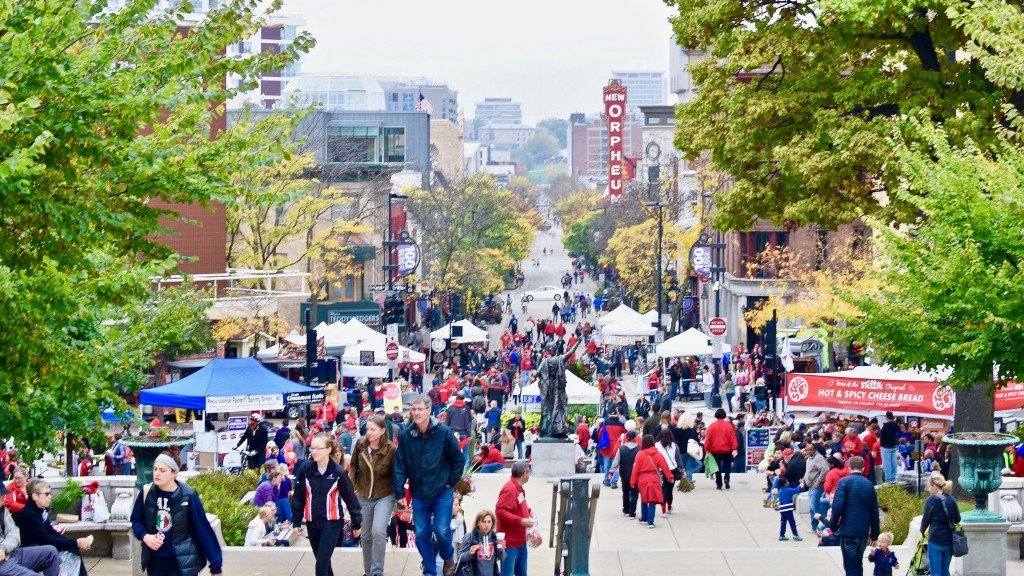 The Dane County Farmers Market Has Been A Madison Tradition Since 1972 1024x576