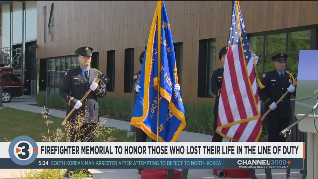 Firefighter Memorial To Honor Those Who Lost Their Life In The Line Of Duty