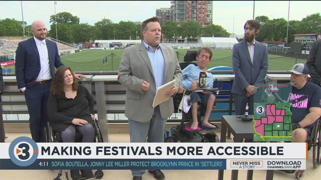 Making Festivals More Accessible In Madison