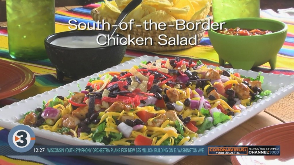 Mr. Food South Of The Border Chicken Salad