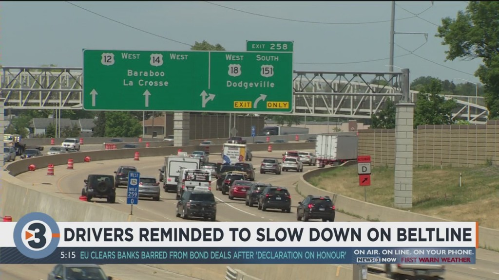 Drivers Reminded To Slow Down On Beltline