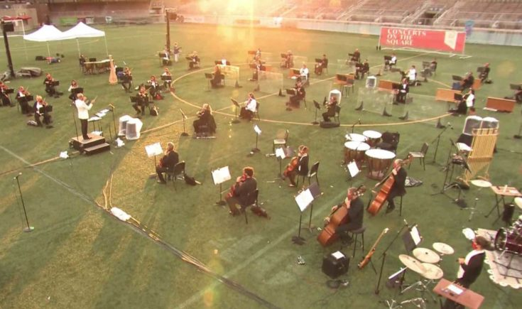 Concerts On The Square At Breese Stevens