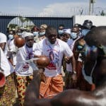Ex President Laurent Gbagbo Arrives In Ivory Coast