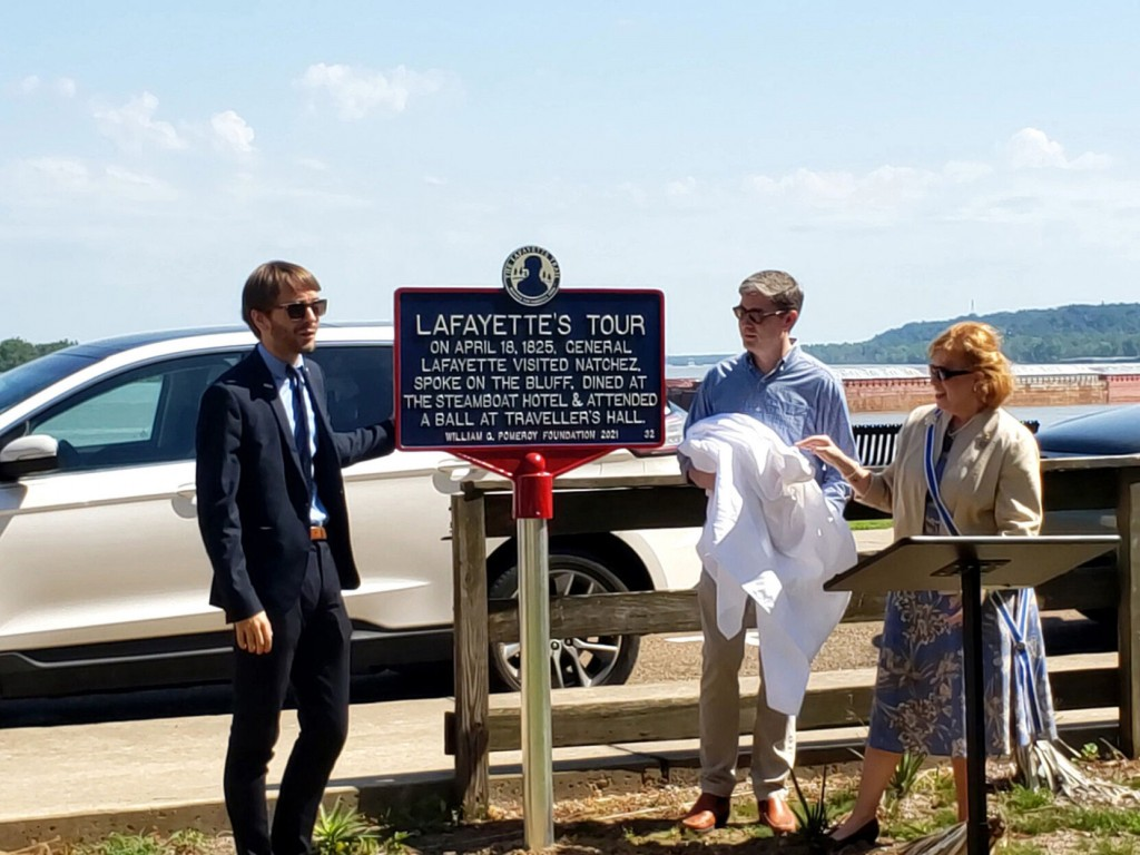 Mississippi City Added To Marquis De Lafayette Trail