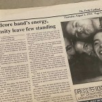 None Left Standing In Daily Cardinal 1994