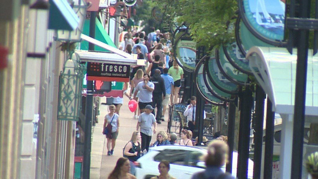 Crowded State Street