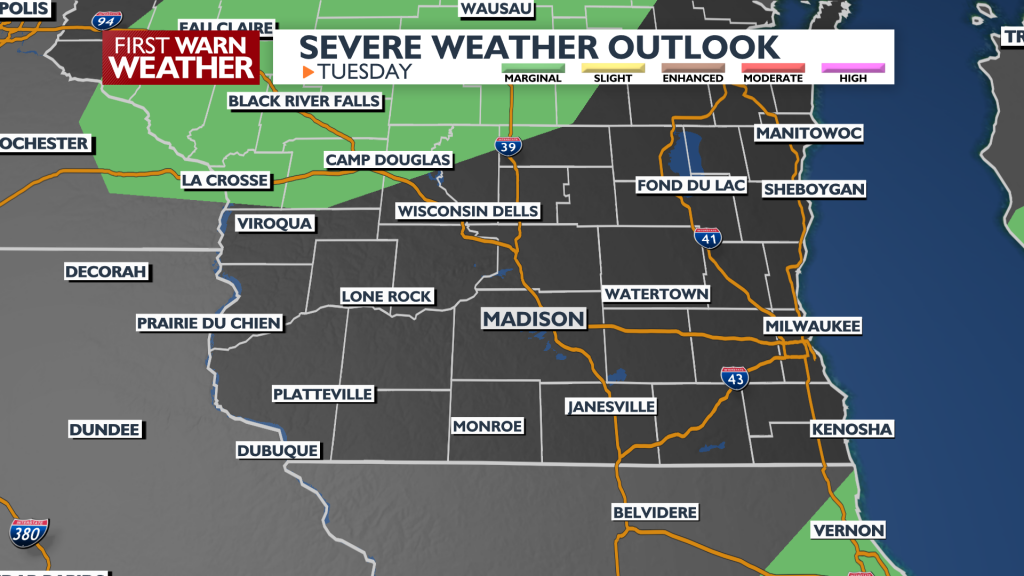 Updated severe weather outlook 6-29-21