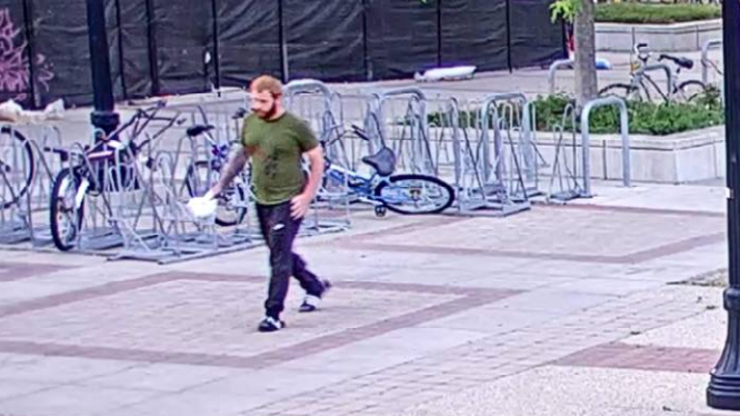 East Campus Mall Battery Suspect 1