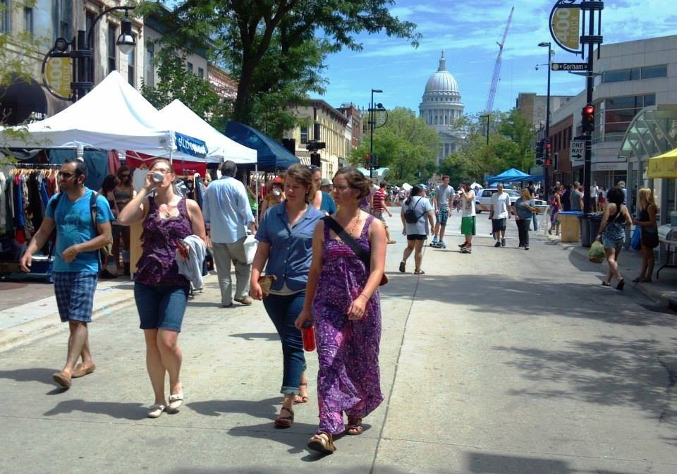 Maxwell Street Days in Madison, WI