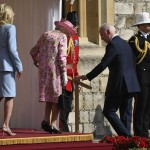Biden And His Aviators Greet Queen On A Sunny Afternoon