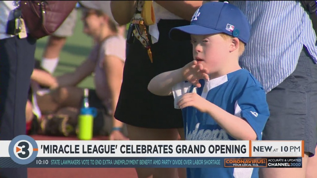 Miracle League Celebrates Grand Opening