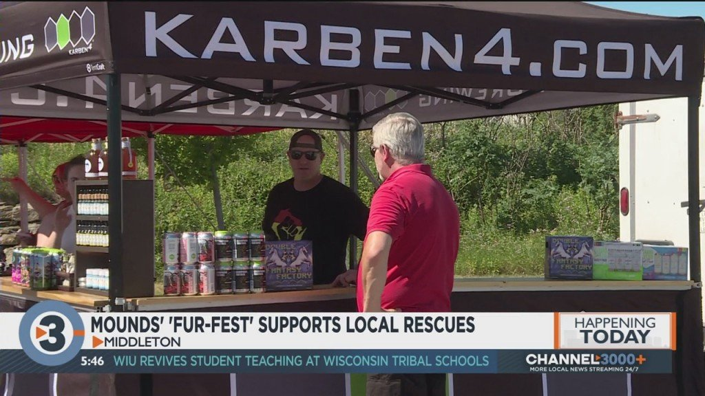 Mounds' Fur Fest Supports Local Rescues
