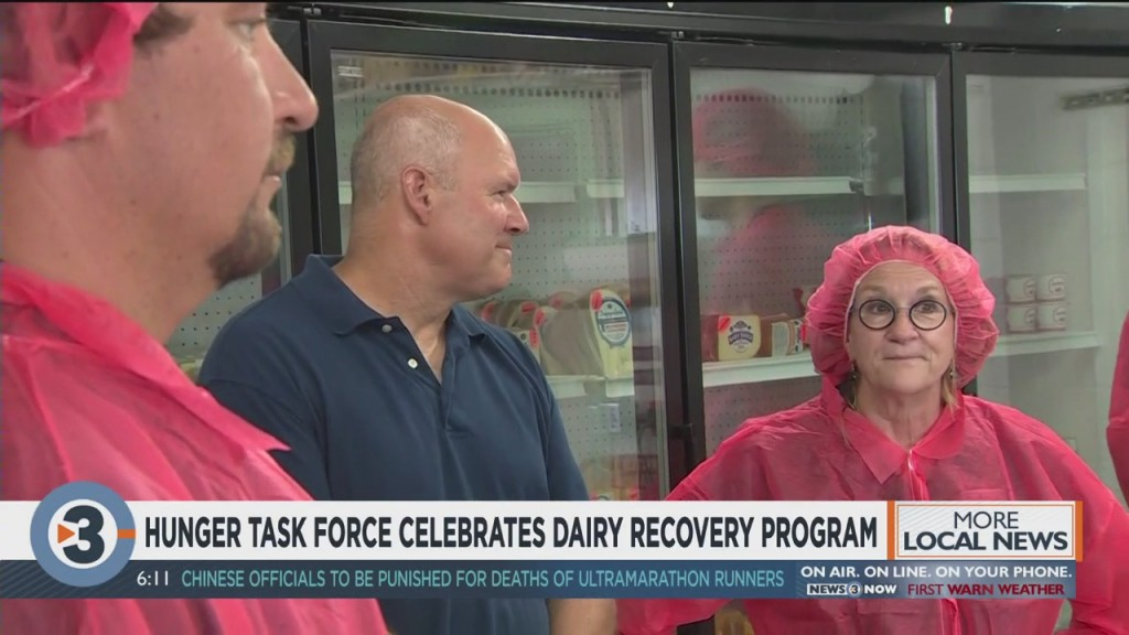 Hunger Task Force Celebrates Dairy Recovery Program