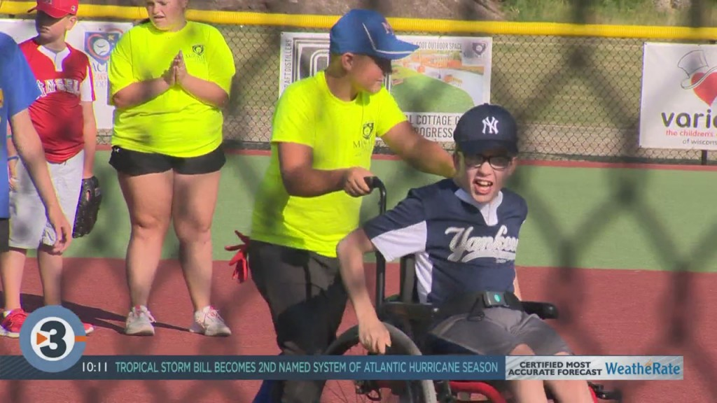 Miracle League Baseball Field Opens In Cottage Grove