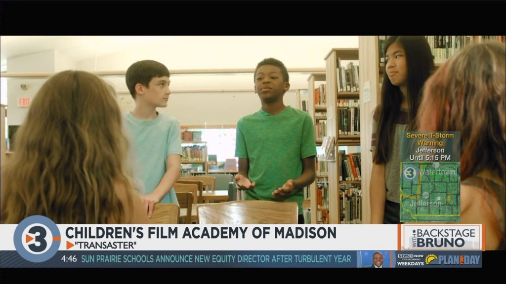 Backstage With Bruno: Children's Academy Of Madison