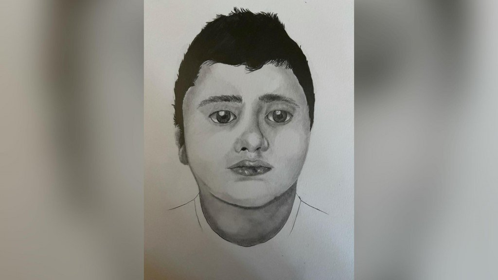 Police Sketch Of Boy Found Dead By Hikers
