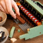 See This Classic Typewriter Made Entirely Of Legos