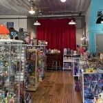 view right when you enter Meep Meepletons