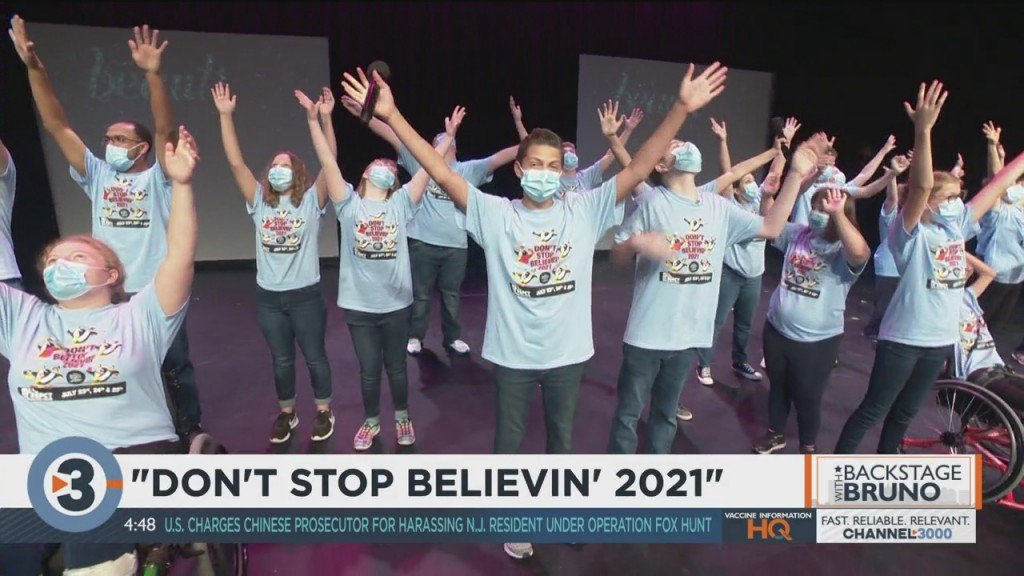 Backstage With Bruno: Don't Stop Believin' 2021