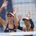 Olympics Latest: Us Women Notch Another Beach Volleyball Win