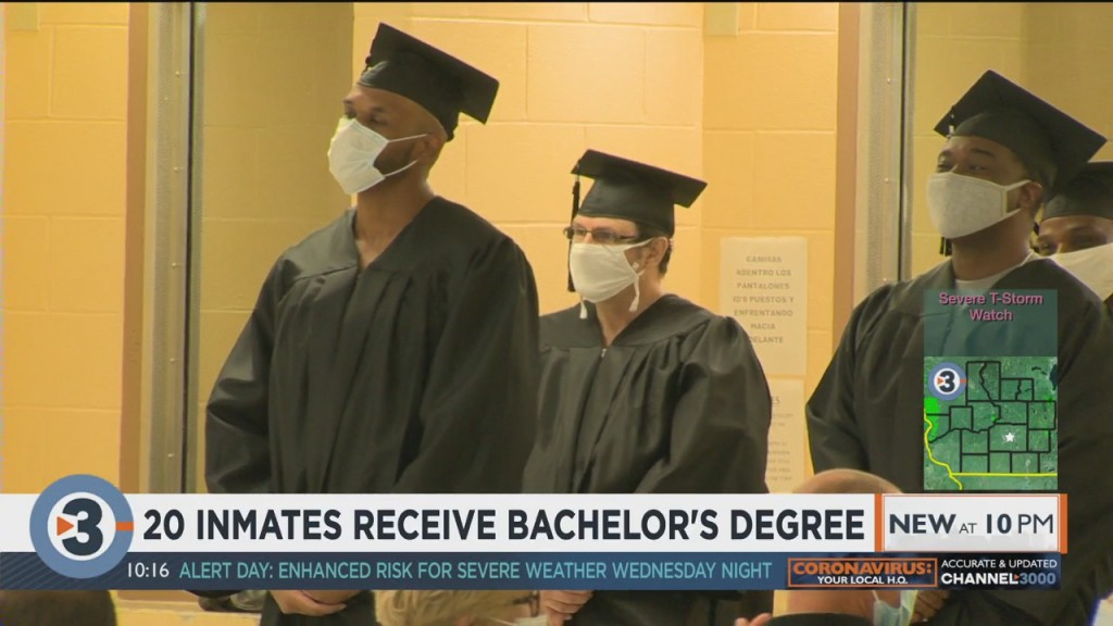 First Class Of Inmates Graduate From Department Of Corrections College Program