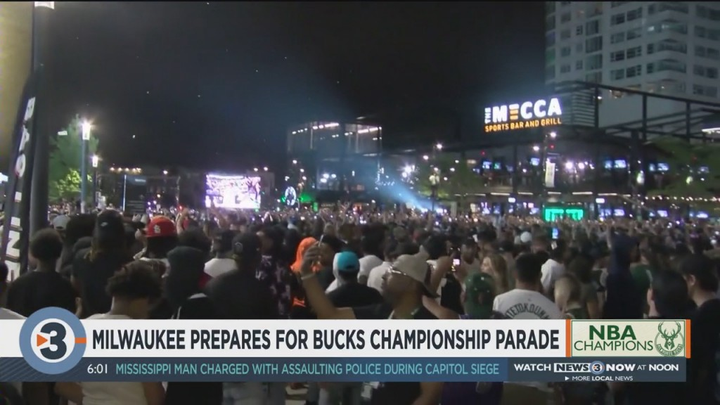 In The 414: Milwaukee Prepares For Bucks Championship Parade